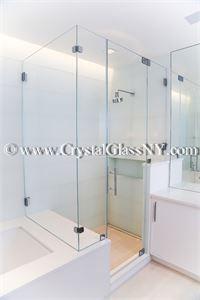 Custom Shower Door Installation Gallery