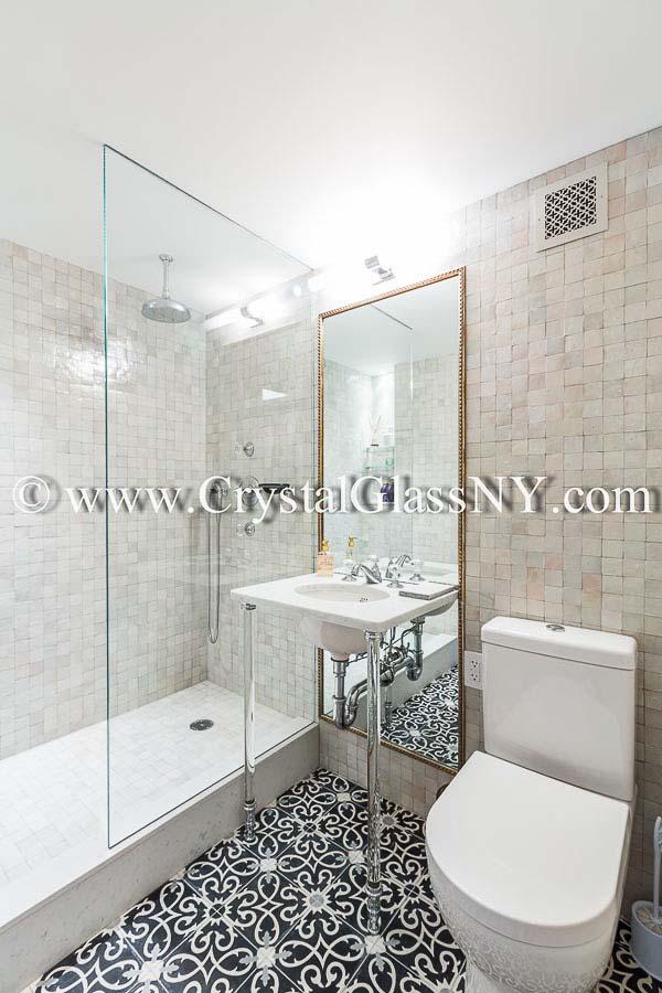Glass Shower Panel Custom Shower Door Installation Gallery