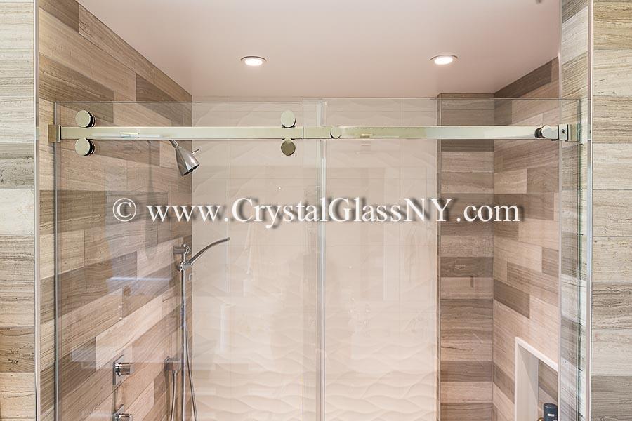 Serenity Sliding Door Custom Shower Door Installation Gallery