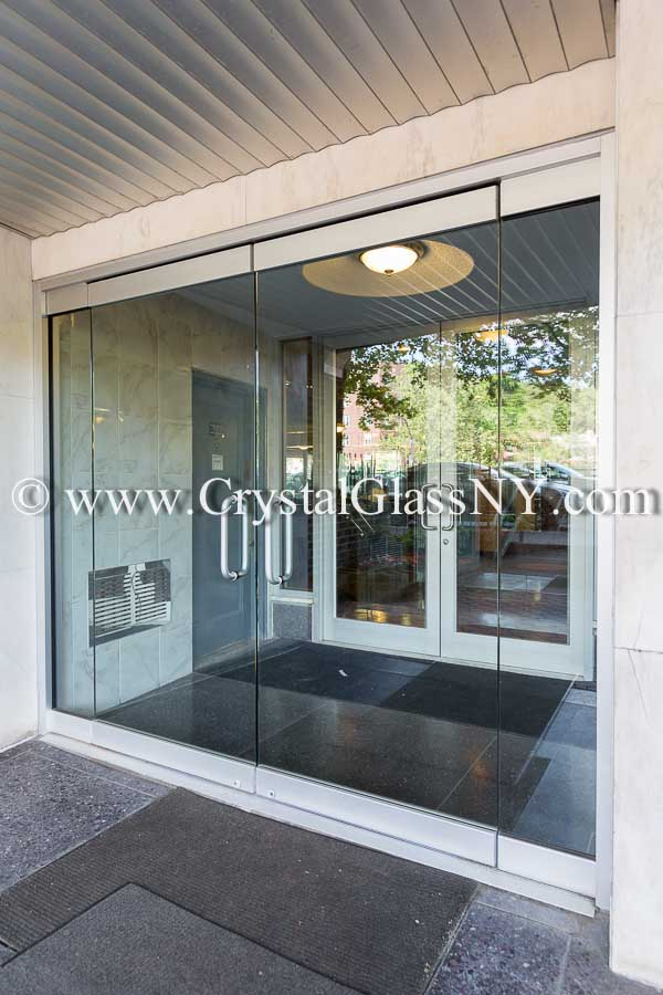Herculite glass door systems storefront installation gallery call 718 234 1218 to talk to a glass specialist now planetlyrics Gallery