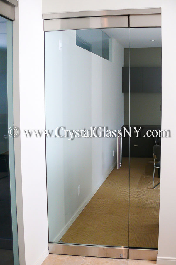Herculite Glass Door With Sidelight Storefront Installation Gallery