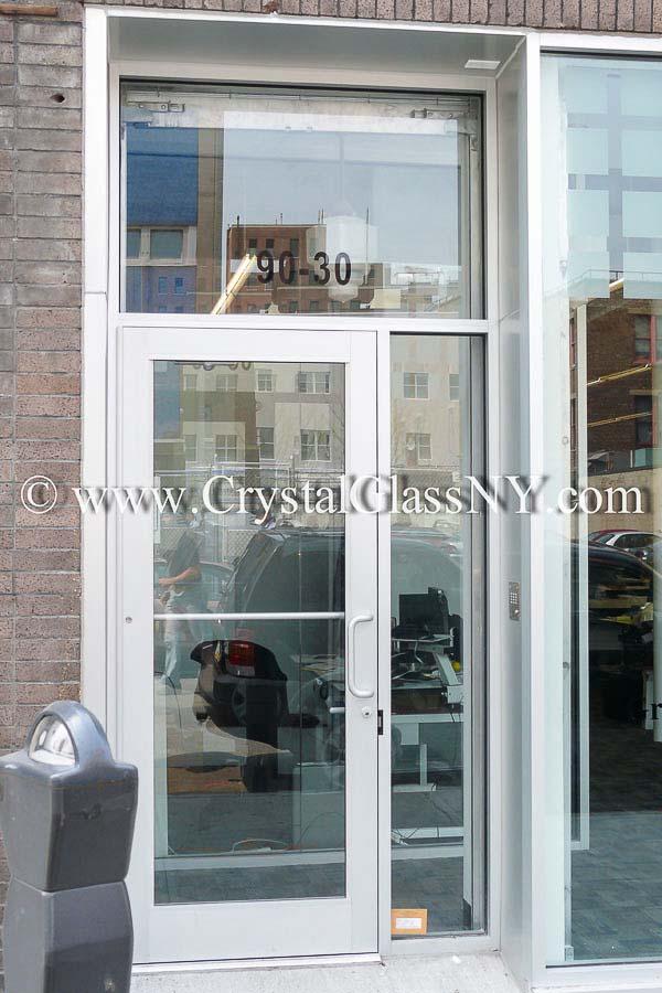 Aluminum Building Entrance Door Storefront Installation Gallery