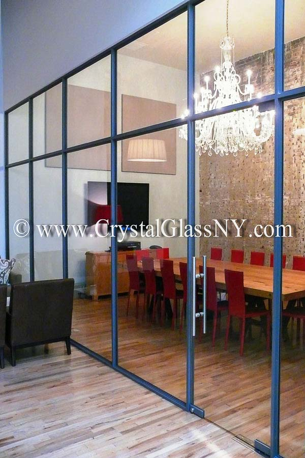 Custom Glass Conference Room Storefront Installation Gallery